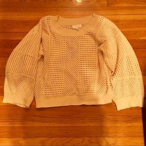Fate by LFD oversized open knit sweater